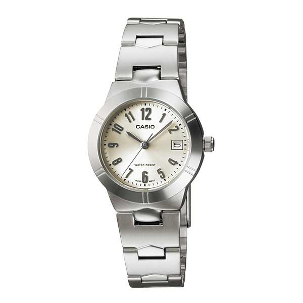 Casio LTP-1241D-7A2DF Quartz Womens Silver