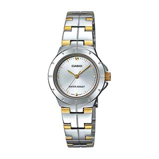 Casio LTP-1242SG-7CDF Quartz Womens Silver/Gold