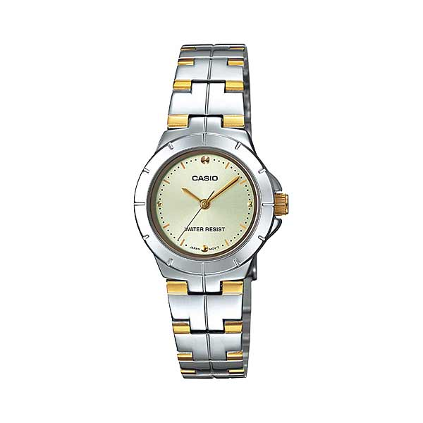 Casio LTP-1242SG-9CDF Quartz Womens Silver/Gold