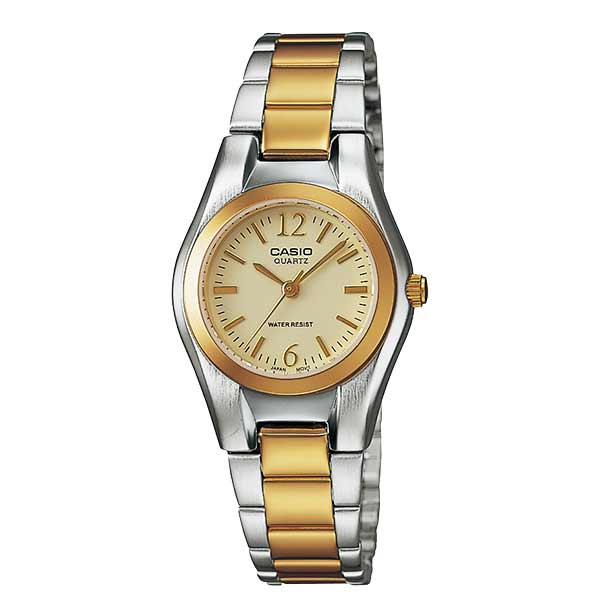 Casio LTP-1253SG-9ADF Quartz Womens Silver/Gold