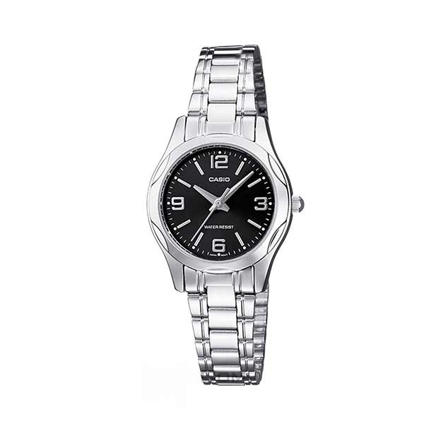 Casio LTP-1275D-1A2DF Quartz Womens Silver