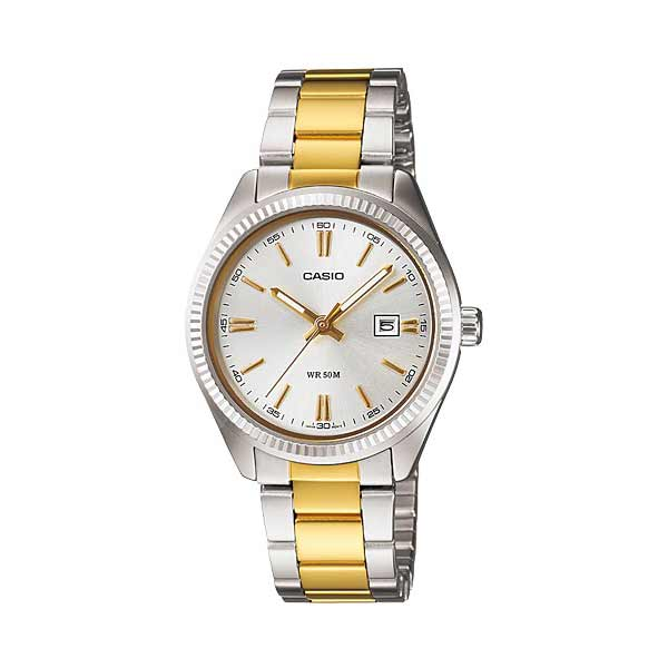 Casio LTP-1302SG-7AVDF Quartz Womens Silver/Gold
