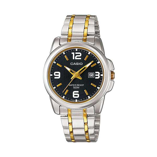 Casio LTP-1314SG-1AVDF Quartz Womens Silver/Gold