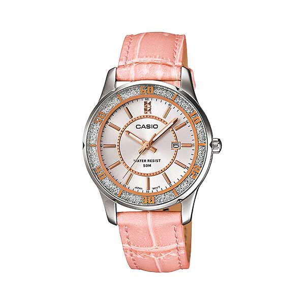 Casio LTP-1358L-4AVDF Quartz Womens Leather