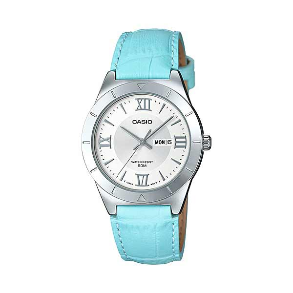 Casio LTP-1410L-7A2VDF Quartz Womens Leather