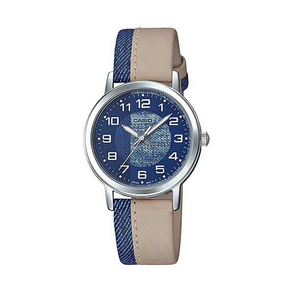 Casio LTP-E159L-2B2DF Quartz Womens Leather