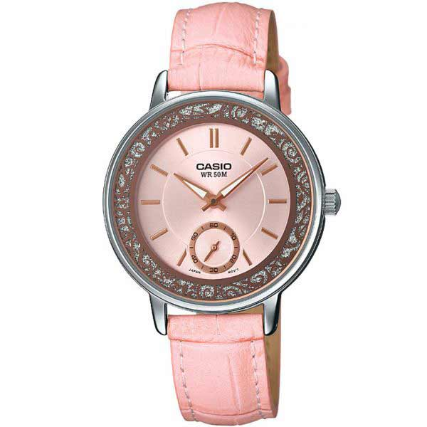 Casio LTP-E408L-4AVDF Quartz Womens Leather