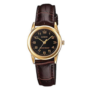 Casio LTP-V001GL-1BUDF Quartz Womens Leather