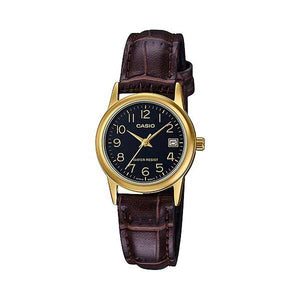 Casio LTP-V002GL-1BUDF Quartz Womens Leather