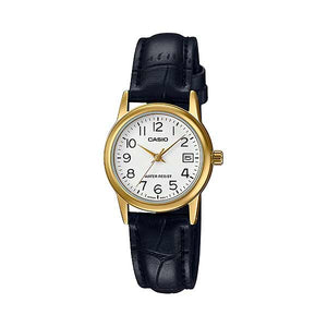 Casio LTP-V002GL-7B2UDF Quartz Womens Leather