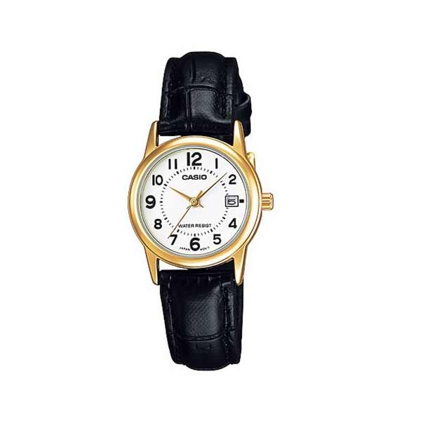 Casio LTP-V002GL-7BUDF Quartz Womens Leather