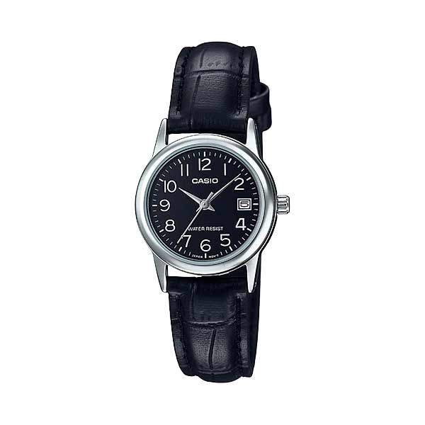 Casio LTP-V002L-1BUDF Quartz Womens Leather