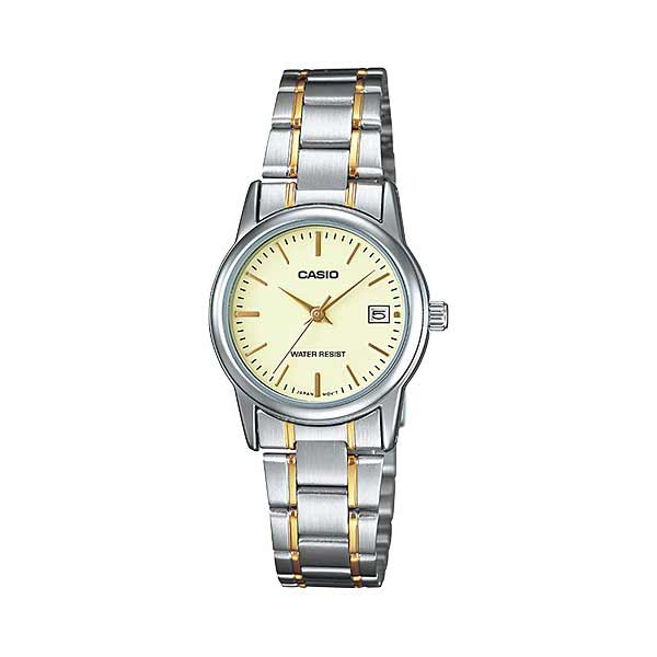 Casio LTP-V002SG-9AUDF Quartz Womens Silver/Gold
