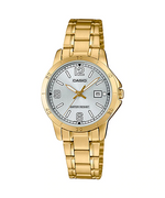 Casio LTP-V004G-7B2UDF Quartz Womens Gold