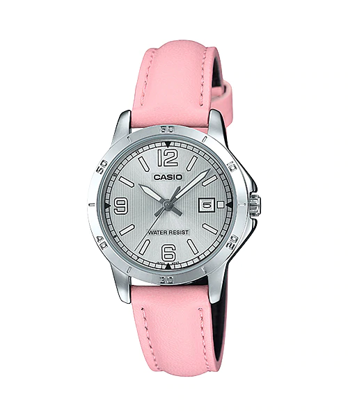Casio LTP-V004L-4BUDF Quartz Womens Leather