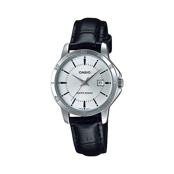 Casio LTP-V004L-7AUDF Quartz Womens Leather