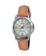 Casio LTP-V004L-7BUDF Quartz Womens Leather