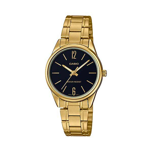 Casio LTP-V005G-1BUDF Quartz Womens Gold