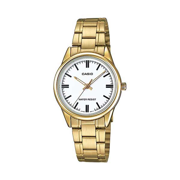 Casio LTP-V005G-7AUDF Quartz Womens Gold
