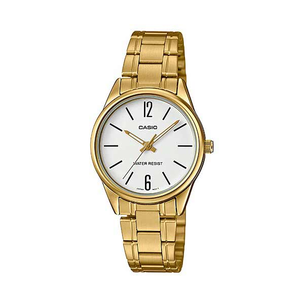 Casio LTP-V005G-7BUDF Quartz Womens Gold