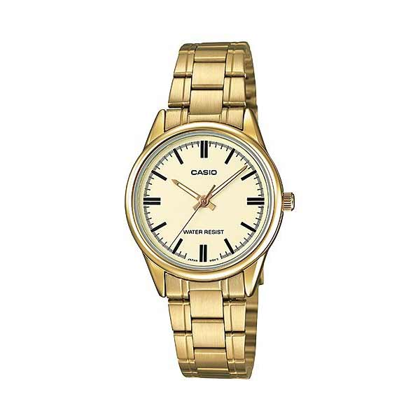 Casio LTP-V005G-9AUDF Quartz Womens Gold