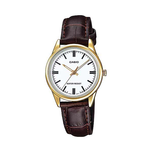 Casio LTP-V005GL-7AUDF Quartz Womens Leather