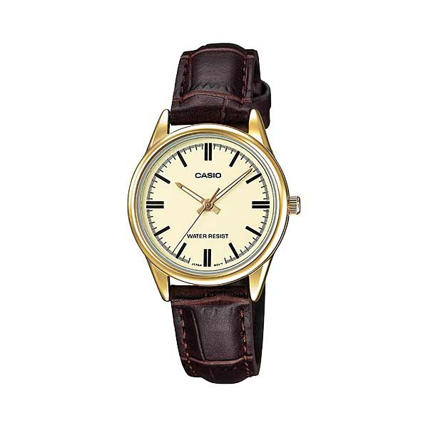 Casio LTP-V005GL-9AUDF Quartz Womens Leather