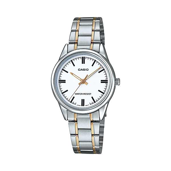 Casio LTP-V005SG-7AUDF Quartz Womens Silver/Gold