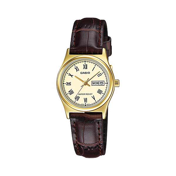 Casio LTP-V006GL-9BUDF Quartz Womens Leather