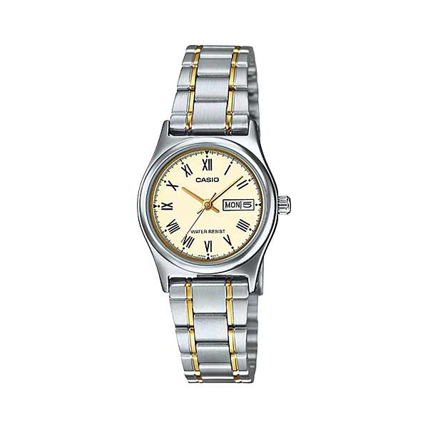 Casio LTP-V006SG-9BUDF Quartz Womens Silver/Gold