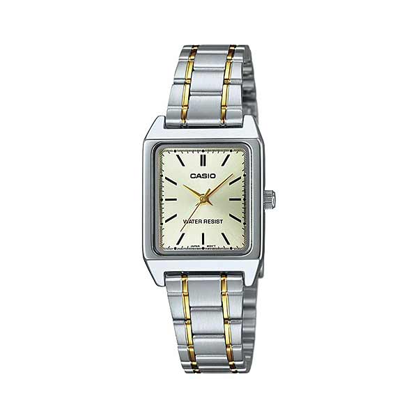 Casio LTP-V007SG-9EUDF Quartz Womens Silver/Gold
