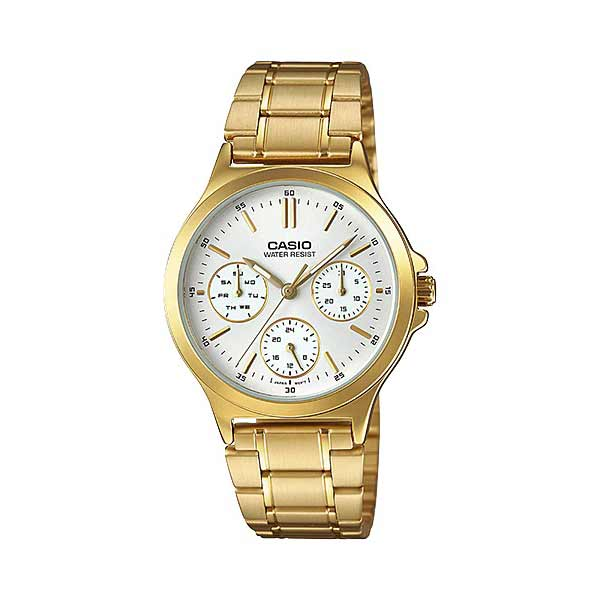 Casio LTP-V300G-7AUDF Quartz Womens Gold