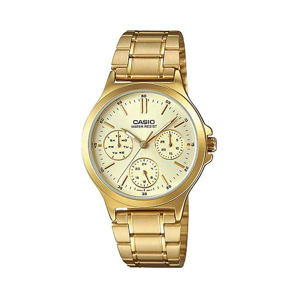 Casio LTP-V300G-9AUDF Quartz Womens Gold