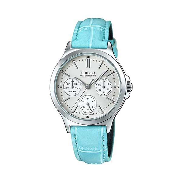 Casio LTP-V300L-2AUDF Quartz Womens Leather