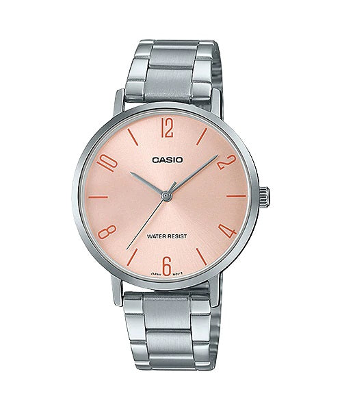 Casio LTP-VT01D-4B2UDF Quartz Womens Silver Water Resist