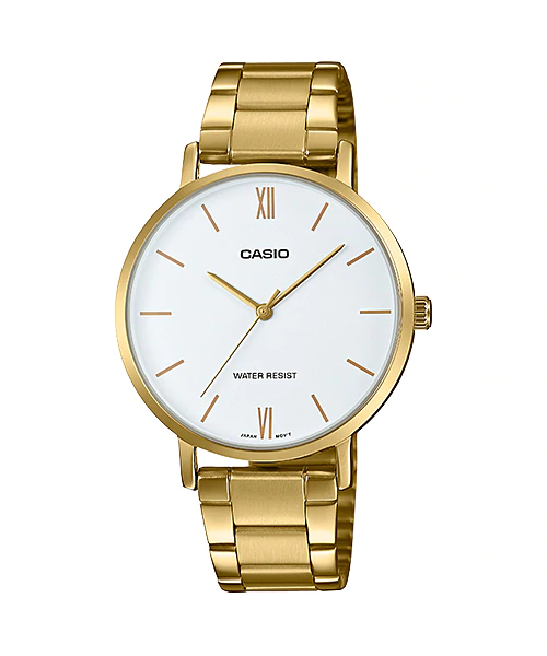 Casio LTP-VT01G-7BUDF Quartz Womens Gold