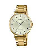 Casio LTP-VT01G-9BUDF Quartz Womens Gold