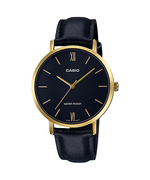 Casio LTP-VT01GL-1BUDF Quartz Womens Leather