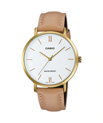 Casio LTP-VT01GL-7BUDF Quartz Womens Leather
