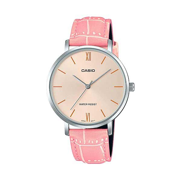 Casio LTP-VT01L-4BUDF Quartz Womens Leather