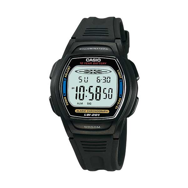 Casio LW-201-2AVDF Digital Womens Resin
