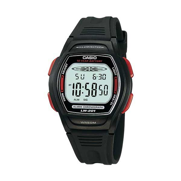 Casio LW-201-4AVDF Digital Womens Resin