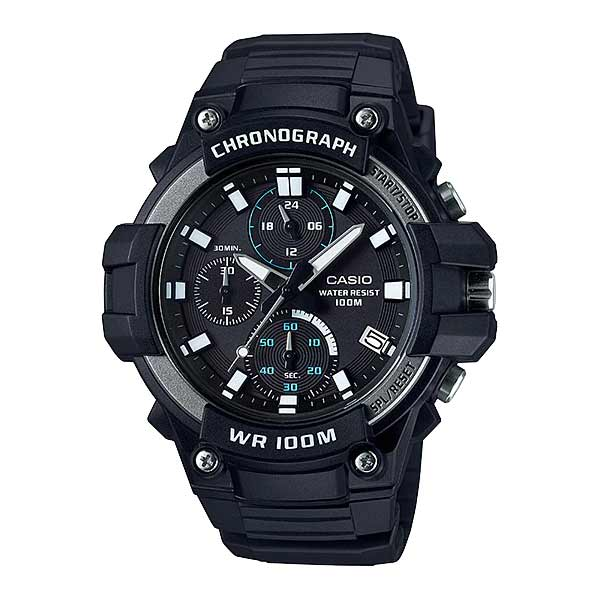 Casio MCW-110H-1AVDF Quartz Mens Resin