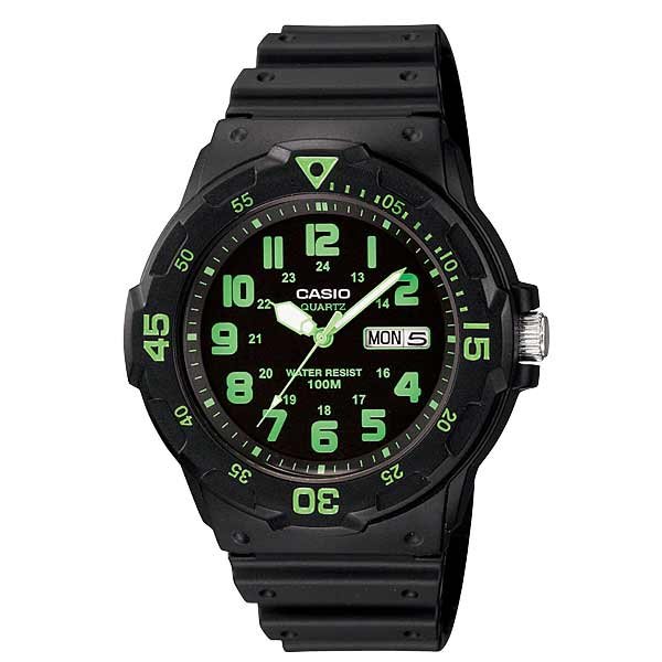 Casio MRW-200H-3BVDF Quartz Mens Resin