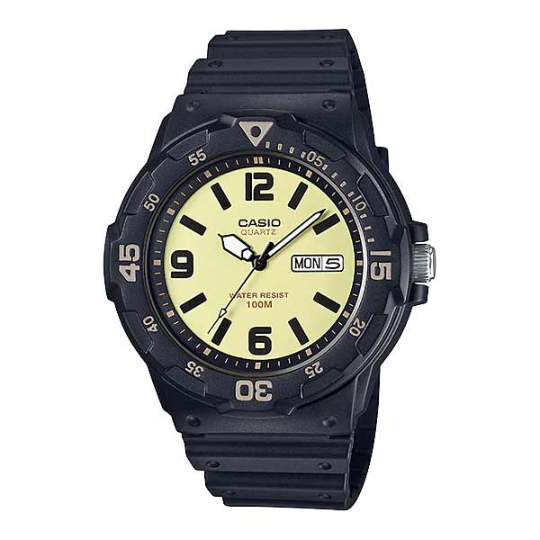 Casio MRW-200H-5BVDF Quartz Mens Resin