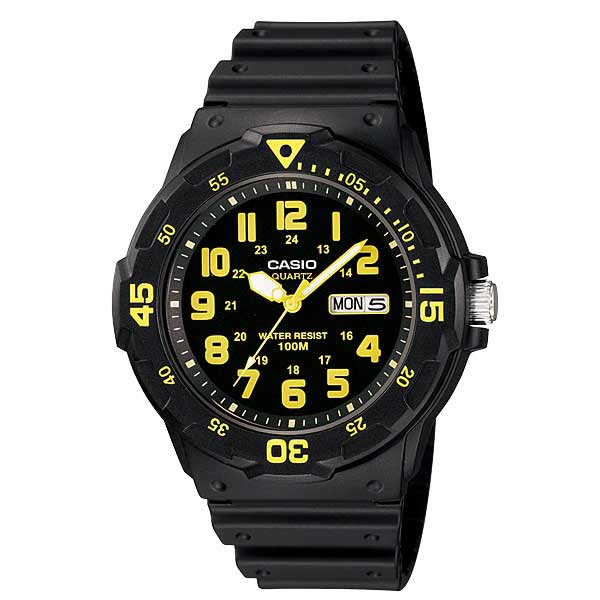Casio MRW-200H-9BVDF Quartz Mens Resin