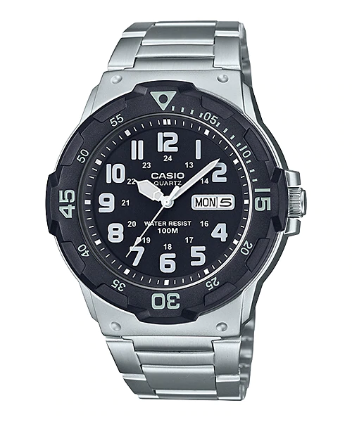 Casio MRW-200HD-1BVDF Quartz Mens Silver