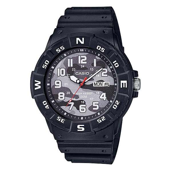 Casio MRW-220HCM-1BVDF Quartz Mens Resin