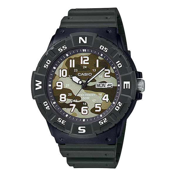 Casio MRW-220HCM-3BVDF Quartz Mens Resin