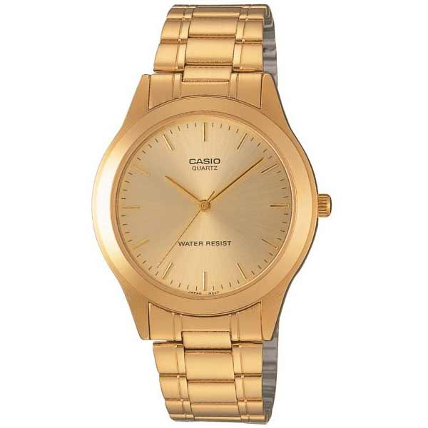 Casio MTP-1128N-9ARDF Quartz Mens Gold